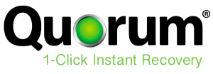 Quorum click Instant Recovery