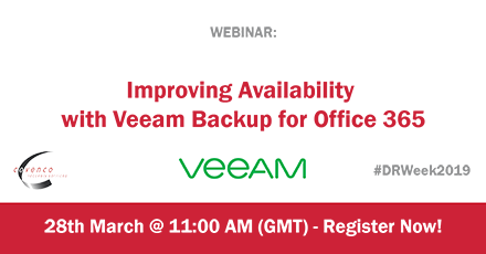 Veeam Webinar Twitter | Covenco Recovery Services
